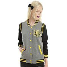 Harry Potter Hufflepuff Girls Bomber Jacket