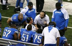 Report: Ex-Lions offensive coordinator Scott Linehan at Cowboys facility today | Dallas Morning News