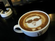 Cappuccino Gangnam Style