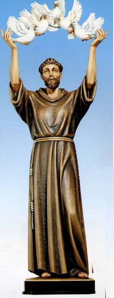 Demetz Saint Statue from Henninger's Religious Goods in Cleveland