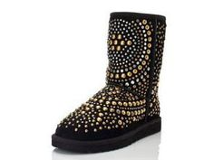 Black Mandah Jimmy Choo Ugg Boots <3