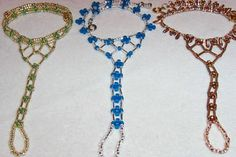 Variations of barefoot sandals, free pattern.