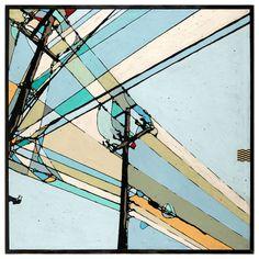Intersection - ORIGINAL - 40x40 - Joel Ganucheau