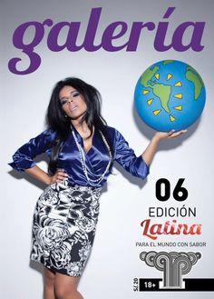 Galería #06 - Octubre 2011 - Giuliana Rengifo - Edición #Latina http://www.revistagaleria.pe/ http://www.facebook.com/revistagaleria