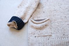 New Pocket Sweater Oatmeal