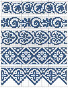 Cross Stitch Bookmarks, Cross Stitch Borders, Cross Stitch Designs, Cross Stitching, Cross Stitch Embroidery, Embroidery Patterns, Cross Stitch Patterns, Crochet Patterns, Knitting Charts