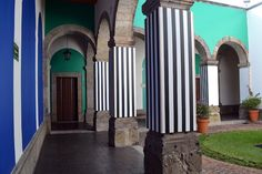 (courtesy of the Cabañas Cultural Institute), Daniel Buren, 2014