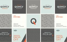 Quincy Pharmacy Branding on Behance