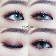 รวมไอเดียแต่งตาสวยๆ สุดปังเว่อร์วัง ต้องติดตามจาก IG : rosy_soo