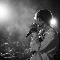 'Lil Peep Performance' Poster by Keiraburns Lil Peep Beamerboy, Lil Peep Hellboy, Goth Boy, Lil Boy, American Rappers, Photos, Pictures, Aesthetic Wallpapers, Music Artists