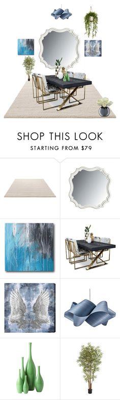 """Sala de jantar"" by megeller on Polyvore featuring interior, interiors, interior design, casa, home decor, interior decorating, ESPRIT, Stanley Furniture, Oliver Gal Artist Co. e LZF"