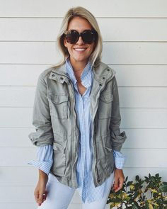 how to get big healthy ferns - Megan Stokes Popular House Plants, How To Get Bigger, Rachel Green, Spring Summer Fashion, Military Jacket, What To Wear, Rain Jacket, Windbreaker, Classy