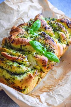 Odrywane drożdżowe z ziołami - Just Be Fit Be Strong! Happy Foods, Antipasto, Salmon Burgers, Vegetable Pizza, Food Inspiration, Breakfast Recipes, Good Food, Cooking Recipes, Cooking Ideas