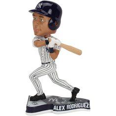 Alex Rodriguez New York Yankees Pennant Based Player Bobblehead