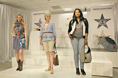 Models during the fashion show segment of the Macy's event with Clinton Kelly #style #fashion #macys #clintonkelly