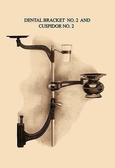 Dental Bracket No. 2 and Cuspidor No. 2