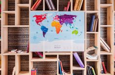 Новогодние новинки от Travel map: скретч-карта Европы и cкретч-карта мира Good To Know, City, Ua, City Drawing, Cities