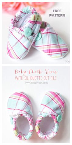 DIY Fabric Baby Crib Booties Free Sewing Pattern Sewing Baby Clothes, Baby Clothes Patterns, Sewing Patterns Free, Free Sewing, Pattern Sewing, Sewing Diy, Free Baby Patterns, Clothing Patterns, Baby Moccasin Pattern