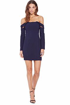 Munroe Off Shoulder Mini Dress