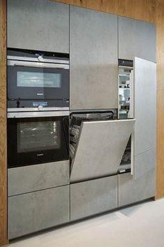 Kuchynské linky so zabudovanými spotrebičmi