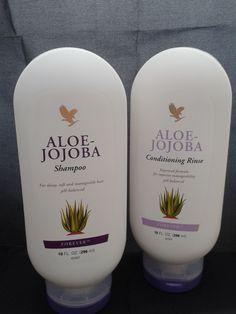 Aloe shampoo and conditioner