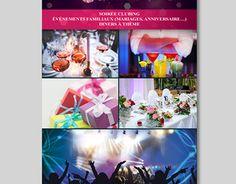 """Check out new work on my @Behance portfolio: """"Charte Graphique M. Événementiels"""" http://be.net/gallery/43747323/Charte-Graphique-M-Evnementiels"""