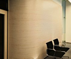 acoustic panelling Office Workspace, Office Spaces, Acustic Panels, Home Theater, Theatre, Acoustic Wall, Sound Absorption, Digital Fabrication, Musical Instruments