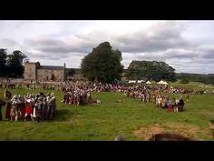 2015 Legio I Italica at Birdoswald Roman Fort, Hadrian's Wall - YouTube