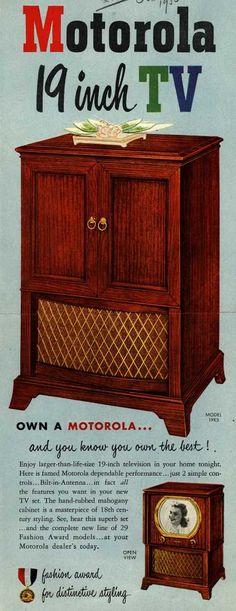 Motorola – Motorola 19 inch TV (1950)