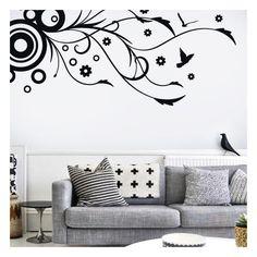 Los vinilos decorativos florales son muy utilizados en la decoración de paredes, en Vinilos Casa ® tienes a tu alcance este original y exclusivo vinilo decorativo o pegatina para pared