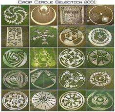 Crop Circle Selection 2001.  Internet.