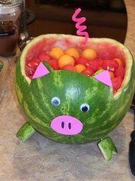@Lucyara Kensy You must make a piggy watermelon!