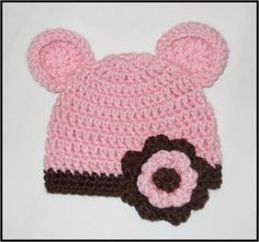 Crocheted Bear Hat