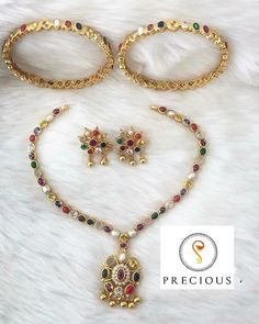 Shop Mind Blowing South Indian Style Imitation Jewellery Designs Online Here South Indian Bridal Jewellery, South Indian Weddings, Indian Jewelry, Bridal Jewelry, Necklace Designs, Jewellery Designs, Beaded Necklace, Beaded Bracelets, Bridal Pictures