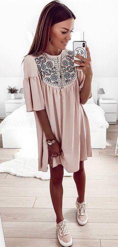pink dress #summer #outfits