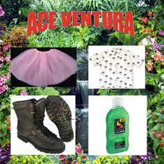 16 DIY Costumes Based On Your Favorite Movie Character - Ace Ventura Ace Ventura Halloween Costume, Ace Ventura Costume, Funny Kid Halloween Costumes, Cool Costumes, Costume Ideas, Teacher Costumes, Halloween Outfits, Adult Costumes, Movie Character Costumes
