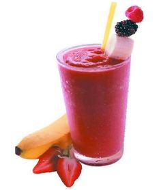 licuado de fresas y bananas. Just learned about these from Spanish  class and they sound delicious!