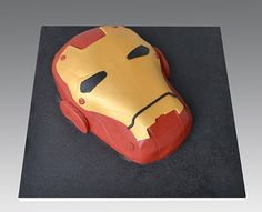 Ironman Head Cake | by Gellyscakes