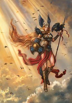 Items similar to Fantasy Fine Art Print Norse Gods Warrior Valkyrie Raven Character Art on Etsy Norse, Fantasy Paintings, Character Art, Valkyrie Norse, Fantasy Art, Valkyrie, Art, Mythology, Valkyrie Tattoo