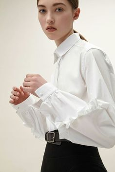 444d3698ac679d 4034 Best Go chic with a great white blouse! images in 2019 ...