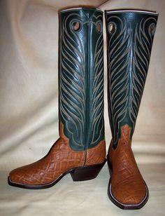 Custom Cowboy Boots, Custom Boots, Cowboy And Cowgirl, Western Boots, Cowboy Hats, Buckaroo Boots, Toledo Ohio, Cool Boots, Well Dressed