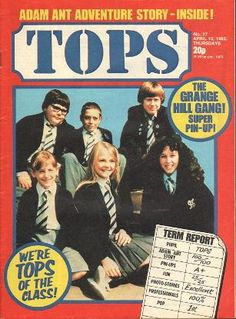 An A-Z thumbnail list of TV shows from the and with links to video clips, pictures and essential info about each series. Including British and American programmes. 1980s Tv Shows, Kids Tv Shows, Bbc Kids, List Of Tv Shows, Newspaper Cover, Programming For Kids, Retro Ads, Old Magazines, Photo Story