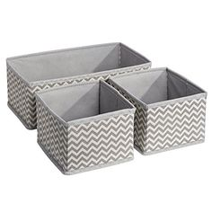 Aren't these nested fabric bins adorable? They're also incredibly fun and functional, and can be used for storing so many different things. Plus, they can