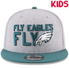 804a6709236 Kid s draft hats also available now at CapSwag.com !  draftseason  nfldraft   draft  2018  2018nfldraft  attstadium  football  nfl  gobirds  newera   59fifty ...