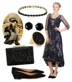 """""""Victorian inspiration"""" by wardrobeshop on Polyvore featuring Chloé, Vince Camuto, Stella & Bow, Dolce Giavonna and vintage"""