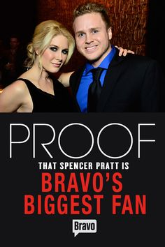 Spencer Pratt doesn't hold back when it comes to flaunting his devotion to The Real Housewives of Orange County and more.