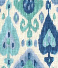 Richloom Django Turquoise Fabric : Image 2