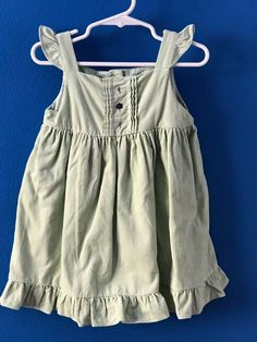 JANIE AND JACK Girls Violet Meadow Soft Corduroy Dress Size 18-24 Months #JanieandJack
