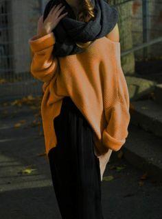 Zara cooler Oversize Pullover senf gelb - kleiderkreisel.de 2c6435614e34