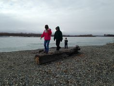Down by the river in Talkeetna